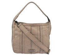 Beuteltasche Picknick in Taupe