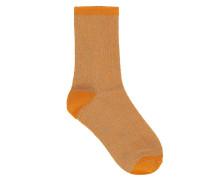 Socken Dina Solid Orange