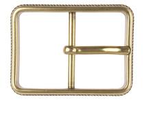 Gürtelschnalle Cestino in Vintage Gold 4cm