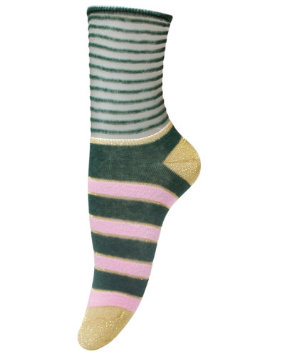Socken Ines Granite Green
