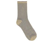 Socken Dina Small Dots Royal Blue