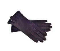 Adax Lederhandschuhe in Violett