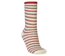 Socken Dory Thin Stripe Beige