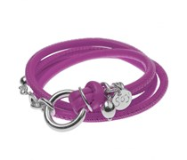 Lederarmband MINI CLASSIC in pink
