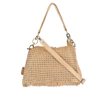 Reptile´s House Umhängetasche BORSA Medium in Beige