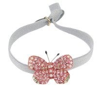 Armband Butterfly in Grau