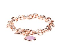 Armband Rolo Stone Briolette Flieder