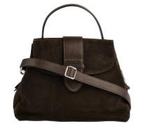 Handtasche Suede Braun
