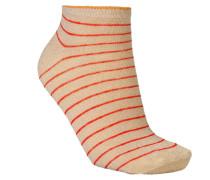 Füßlinge Dollie Stripe Red