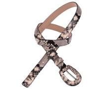 Gürtel Diamant Lux in Schlangenoptik 1,5 cm