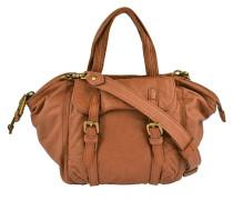 Handtasche in Cognac