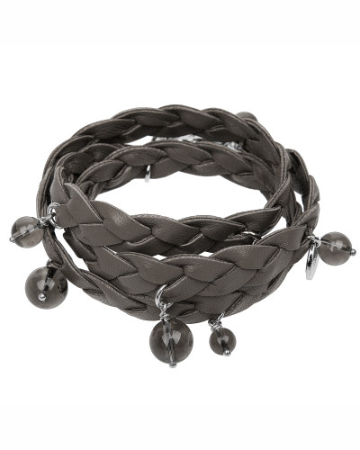 Armband Smoky in Taupe