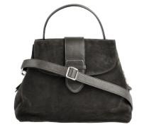 Handtasche Suede Grau