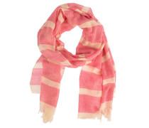 Schal Slates in Pink/Beige