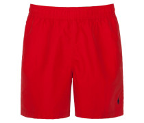 Unifarbene Badeshort, Hawaiin Swim von Polo Ralph Lauren in Rot für Herren