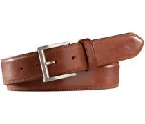 Englischer Saddle-Leder Gürtel