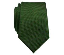 Slim Krawatte aus reiner Seide von Tom in Gruen für Herren