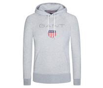 Bequemes Kapuzen-Sweatshirt von Gant in Grau für Herren