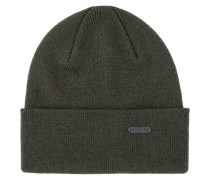 Mütze aus 100 % Schurwolle von Barbour in Oliv für Herren