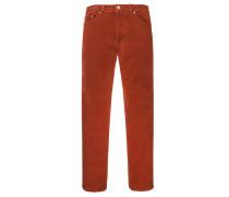 Deauville 5-Pocket Cordhose von Pierre Cardin in Orange für Herren