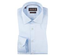 Slim Fit Businesshemd von Jacques Britt in Blau für Herren