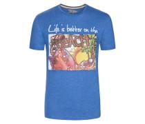 T-Shirt mit Frontprint von Tom Made In Heaven in Blau für Herren