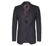 Harris Tweed Sakko mit edlen Details von Tom Rusborg in Anthrazit für Herren