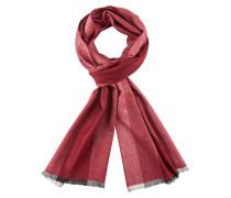 Schlichter Schal mit Streifen von Tom Rusborg in Rot für Herren