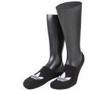 Invisible Sneaker Socken, Füßlinge von Adidas in Schwarz für Herren