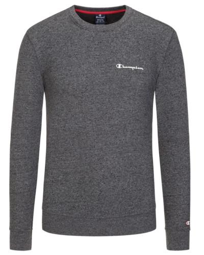 Sweatshirt mit Frontprint in Anthrazit