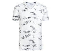 T-Shirt mit Allover-Print von Tom Made In Heaven in Weiss für Herren