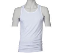 Trägerunterhemd von Novila in Weiss für Herren