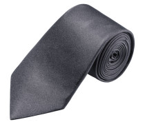 Modisch schmale Krawatte, uni von Olymp in Anthrazit für Herren