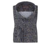 Paisley Custom Fit Hemd von Jacques Britt in Braun für Herren