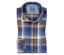 Casual Flanellhemd, Modern Fit