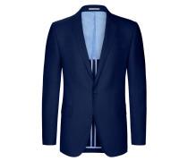 Sakko, modische Struktur, Barberis von Tom Rusborg in Mittelblau für Herren