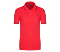 Softes Stretch-Poloshirt von Emporio Armani in Rot für Herren