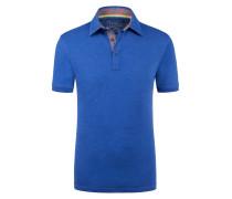 Poloshirt in Slub-Yarn-Optik von Tom Made In Heaven in Blau für Herren