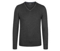 Basic V-Neck Pullover von Tom Rusborg in Anthrazit für Herren