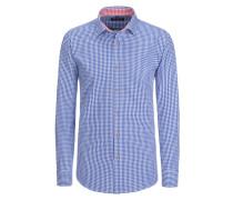 Trachtenhemd Regular Fit von Tom Rusborg in Navy für Herren