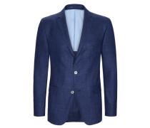 Sakko mit Struktur, Loro Piana von Tom Rusborg Premium in Blau für Herren