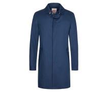 Baumwollmantel mit kontrastierenden Knöpfen von Bob in Blau für Herren