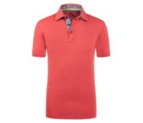 Poloshirt in Slub-Yarn-Optik von Tom Made In Heaven in Rot für Herren
