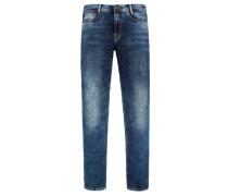 Bequeme 5-Pocket, Jog'n Jeans von Mac in Blau für Herren