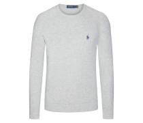 Sweatshirt im Washed-Look in Grau für Herren