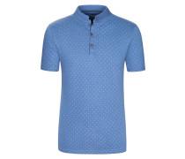 Poloshirt mit Stehkragen von Tom Made In Heaven in Blau für Herren