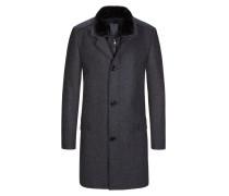 Modischer Mantel mit heraustrennbarer Nylonblende von Cinque in Anthrazit für Herren