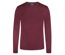 Pullover aus reiner Merino-Wolle, Slim Fit