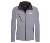 Bequeme Softshell-Jacke, wasserabweisend von Polo Sport in Grau für Herren