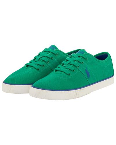 Ralph Lauren Herren Canvas Sneaker in Gruen Billig Store FexQxe4Iic